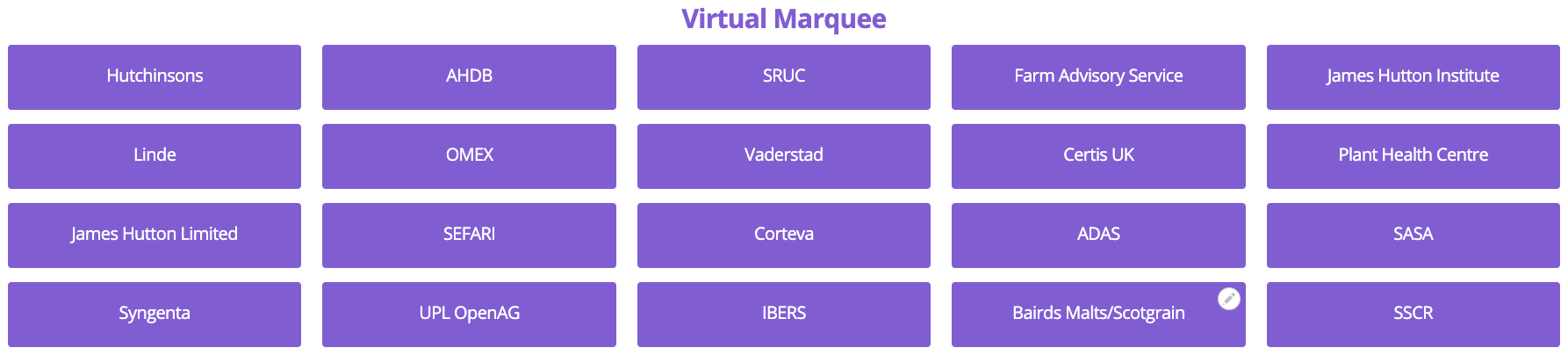 Virtual Marquee Field Map