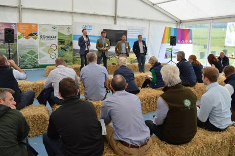 Arable Conversations taking place during Arable Scotland 2019