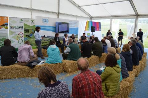 Arable Conversations are a popular feature of Arable Scotland